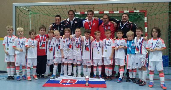 Finalista turnaja v Nemecku ČSFA s FC Bayern Mníchov